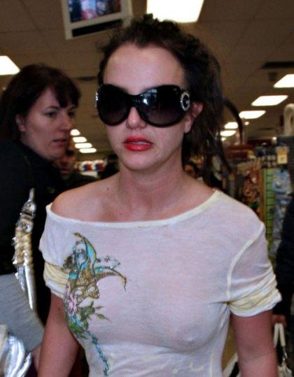 Britney Spears atPetco