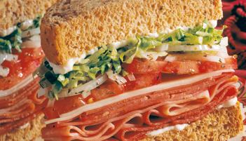 Jimmy John's #9 Italian Night Club sandwich