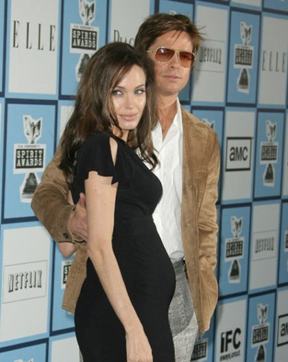 Angelina Jolie pregnant with twins?