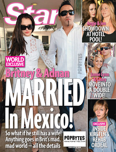 Britney Spears Married again?