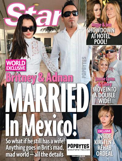 Britney Spears Marriedagain?
