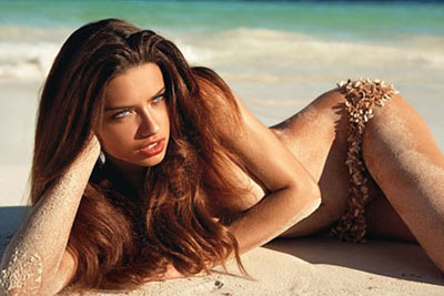 Adriana Lima GQ Photoshoot March 2008