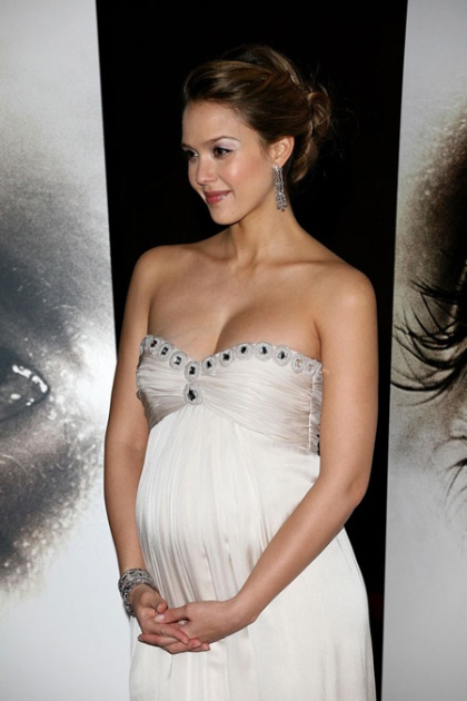 Jessica Alba pregnancy ham cravings