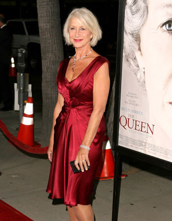Helen Mirren is old
