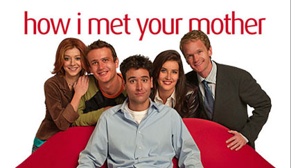 """How I Met Your Mother"" marketing shot"
