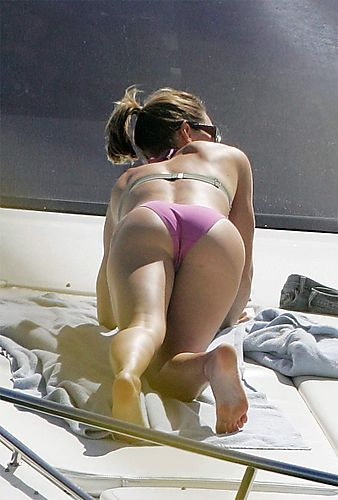 Jessica Biel's bikini ass